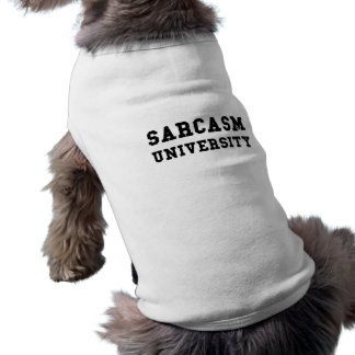 T-shirt Université de sarcasme