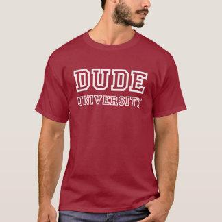 T-shirt Université de type