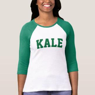 T-shirt Université verte Bella de CHOU FRISÉ 3/4 pièce en