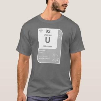 T-shirt Uranium (u)
