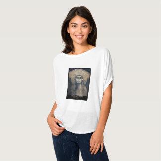 T-shirt URGENCE de Calderon-Gomez d'alouette de la VIE