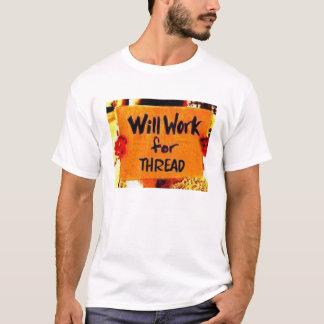 T-shirt Usage 2 de château de petit gâteau