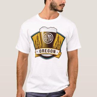T-shirt Usage de Brew de courbure