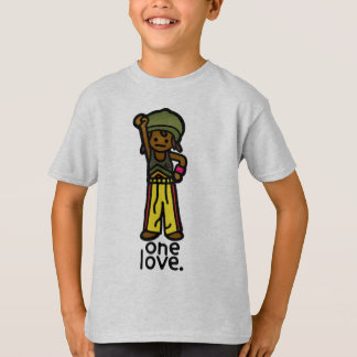 T-shirt usage de rasta