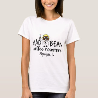 T-shirt Usage fol de logo d'haricot