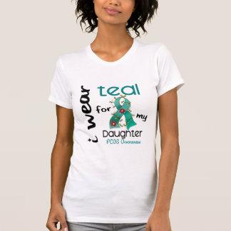 T-shirt Usage Teal de PCOS I pour ma fille 43