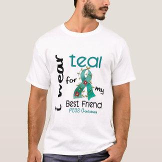 T-shirt Usage Teal de PCOS I pour mon meilleur ami 43