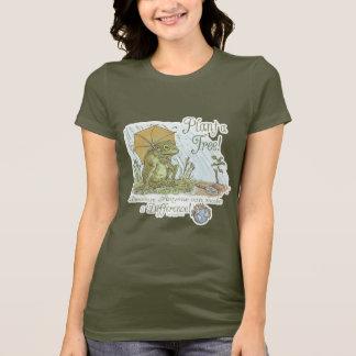 T-shirt Usine de grenouille d'Enviro une vitesse de jour