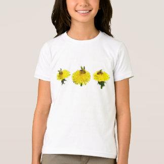 T-shirt usine fonctionnante d'abeille-pissenlit