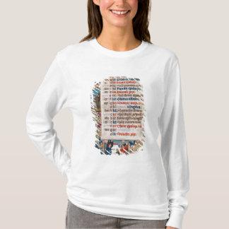 T-shirt V.25-3 Fol.12v le mois de décembre