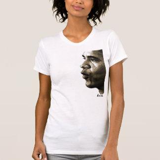 T-shirt V-cou d'Obama