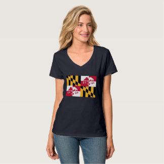 T-shirt V des femmes - joker Calvert de cou
