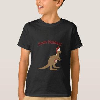 T-shirt Vacances de houblon ! kangourou de Noël