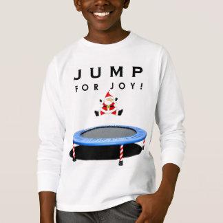 T-shirt Vacances de trempoline
