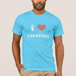 T-shirt vacances i <3