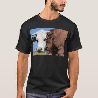 T-shirt Vache à Abondance dans les Alpes français
