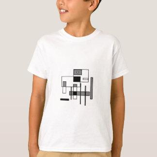 T-shirt Vache abstraite