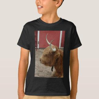 T-shirt Vache des montagnes à bétail