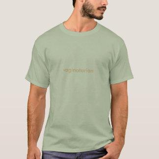 T-shirt vaginatarian