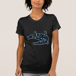 T-shirt Vague bleue de Los Angeles