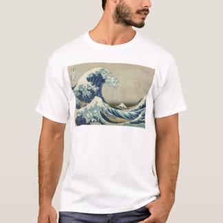T-shirt Vague de Kanagawa par Katsushika Hokusai