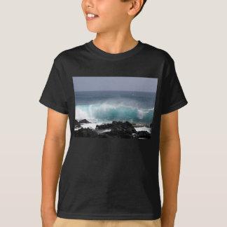 T-shirt Vague du sud de point, Hawaï