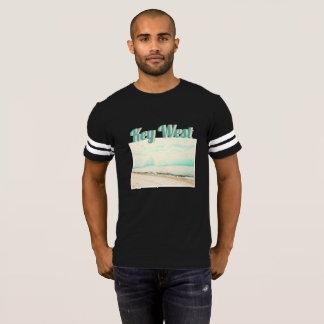 T-shirt Vagues, sable, et ciel à la plage de Higgs à Key