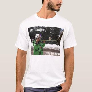 T-shirt Vail vivant le rêve