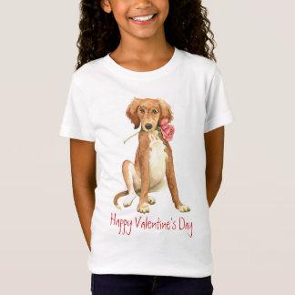 T-Shirt Valentine Saluki rose