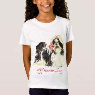 T-Shirt Valentine Shih rose Tzu