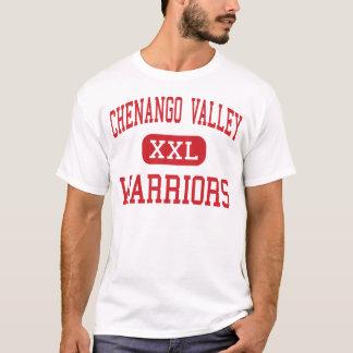 T-shirt Vallée de Chenango - guerriers - haute -