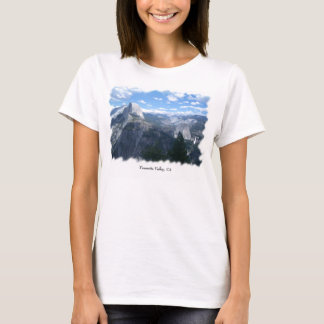 T-shirt Vallée de Yosemite de point de glacier