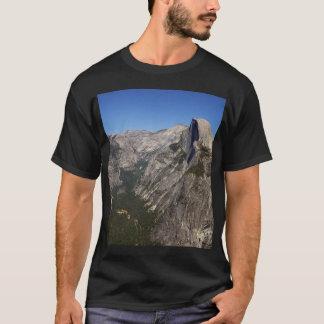 T-shirt Vallée de Yosemite et demi de dôme de point de