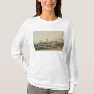 T-shirt Vallée du Nil avec des ruines du temple de
