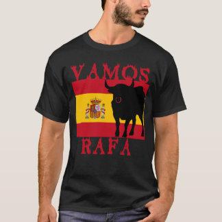 T-shirt Vamos Rafa avec le drapeau de l'Espagne