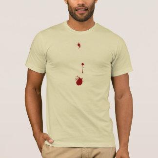 T-shirt Vampire, loup-garou, égouttements de sang de