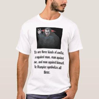 T-shirt Vampires et conflit