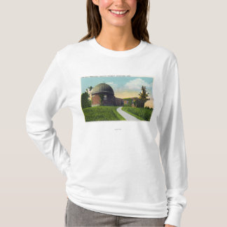 T-shirt Van Vleck Observatory d'université wesleyenne