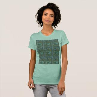 T-shirt Variations de tuile de fenêtre
