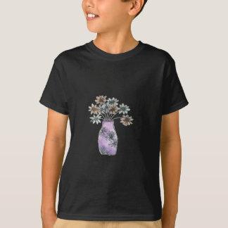 T-shirt Vase à fleur