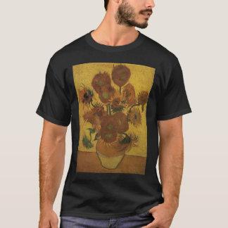 T-shirt vase à Van Gogh avec quinze tournesols Amsterdam b