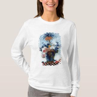 T-shirt Vase avec des fleurs