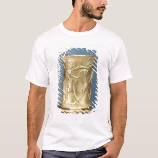 T-shirt Vase décoré des créatures mythologiques, Perse