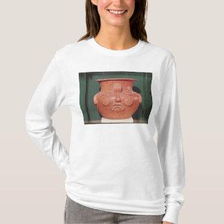T-shirt Vase globulaire avec un visage, de Kalminaljuy
