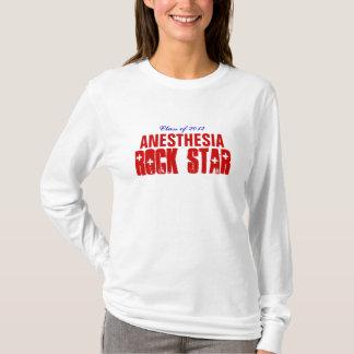 T-shirt Vedette du rock d'anesthésie