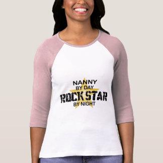 T-shirt Vedette du rock de bonne d'enfants par nuit