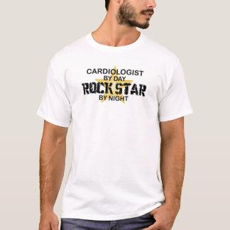T-shirt Vedette du rock de cardiologue par nuit