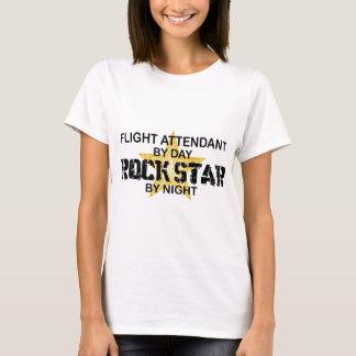 T-shirt Vedette du rock de steward (hôtesse de l'air)