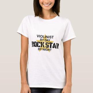 T-shirt Vedette du rock de violoniste par nuit
