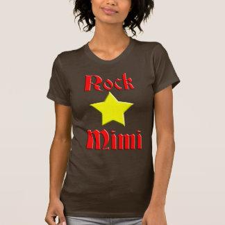T-shirt Vedette du rock Mimi pour la couleur foncée